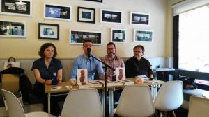 Presentación en el Café del Sur de Rocinante
