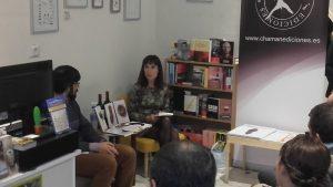 MIguel Ubeda nos recitó varios poemas de la antología.