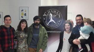 Foto de familia de Chamán Ediciones en Madrid