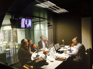 Alfred Corn en Vaugham Radio