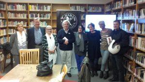 Asistentes a la lectura de Alfred Corn en Instituto Internacional Americano en Madrid