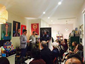 Presentación de Alfred Corn en Madrid
