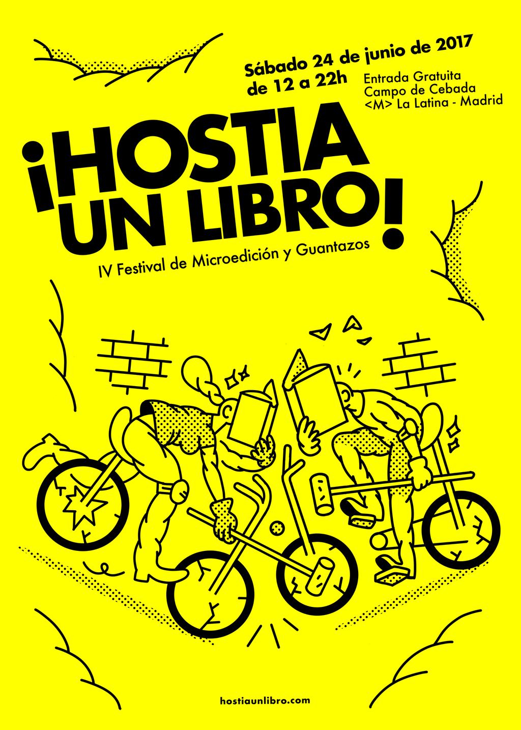 Cartel de HUL 2017, Chamán Ediciones