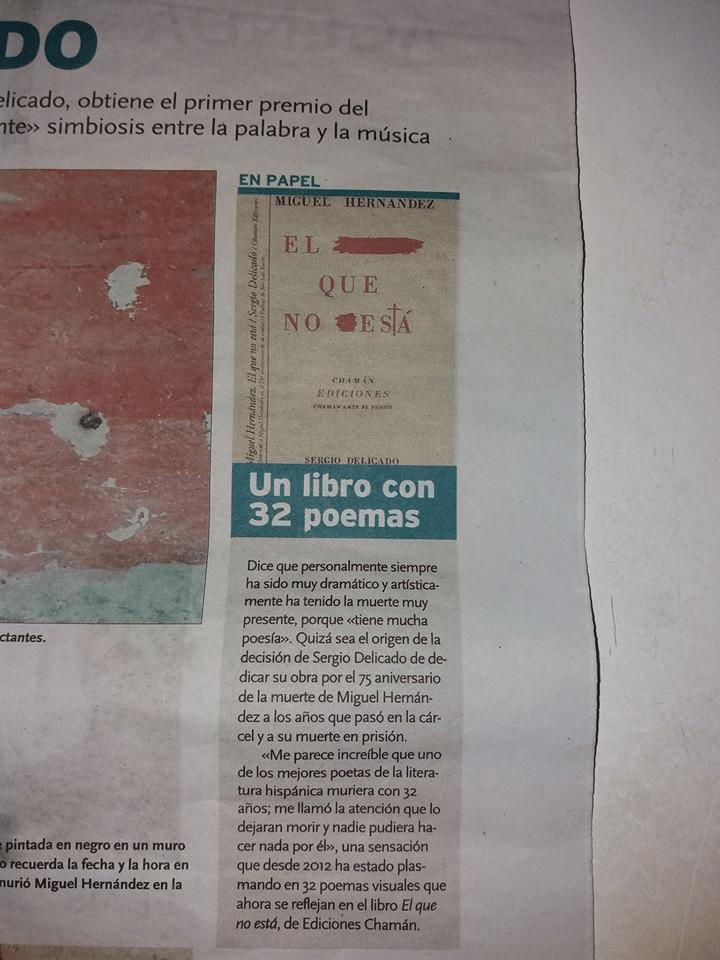 """""""Miguel Hernández. El que no está"""" en la Tribuna de Albacete"""