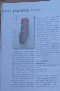 Detalle del artículo sobre Rocinante en la Revista Leer