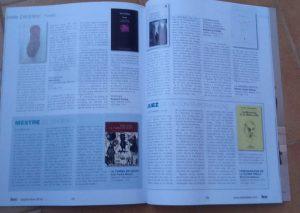 El artículo sobre Rocinante en la Revista Leer