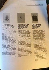 Reseña de Hierofanías en la Revista Fábula de Logroño