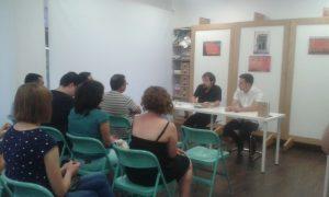 Presentación de Toni Villar de Miguel Hernández. El que no está