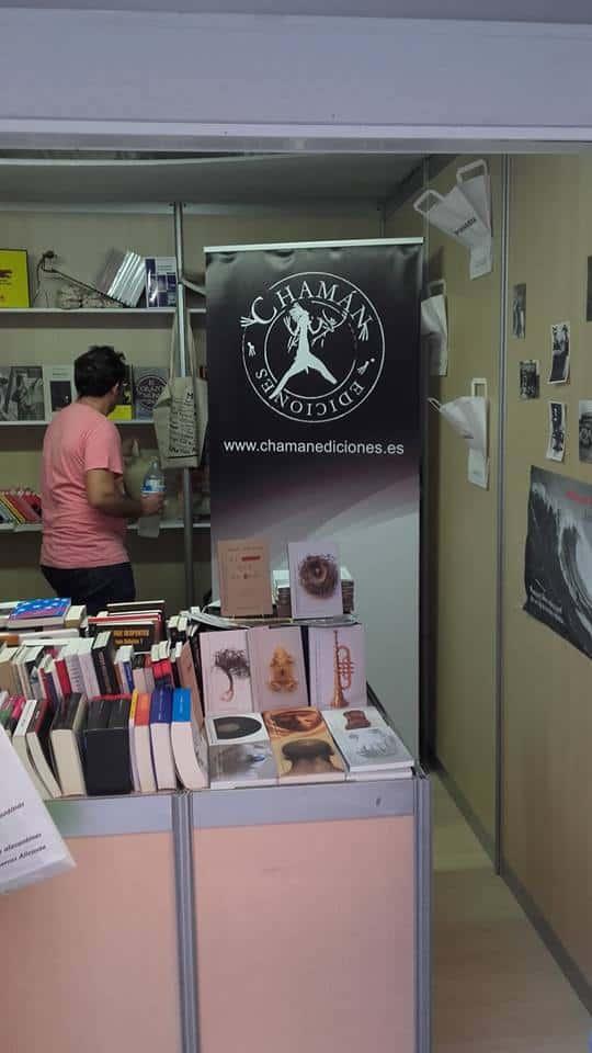 Pynchon & Co y Chamán Ediciones en la Feria del libro de Alicante 2017