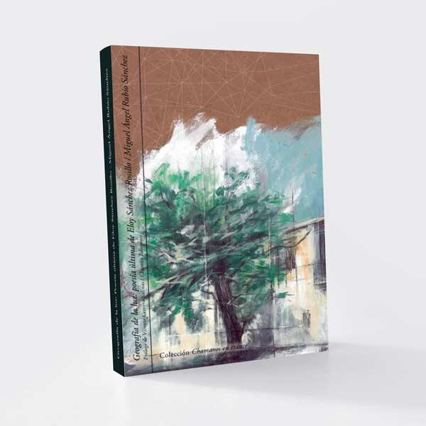 Imagen de cubierta de Geografía de la luz: poesía última de Eloy Sánchez Rosillode Miguel Ángel Rubio, Chamán Ediciones, Albacete, 2017