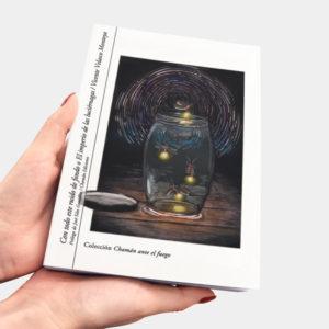Con todo este ruido de fondo o El impero de las luciérnagas de Vicente Velasco, Chamán Ediciones, Albacete, 2018