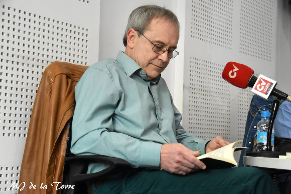 Javier Sarti en la entrevista de CV Radio