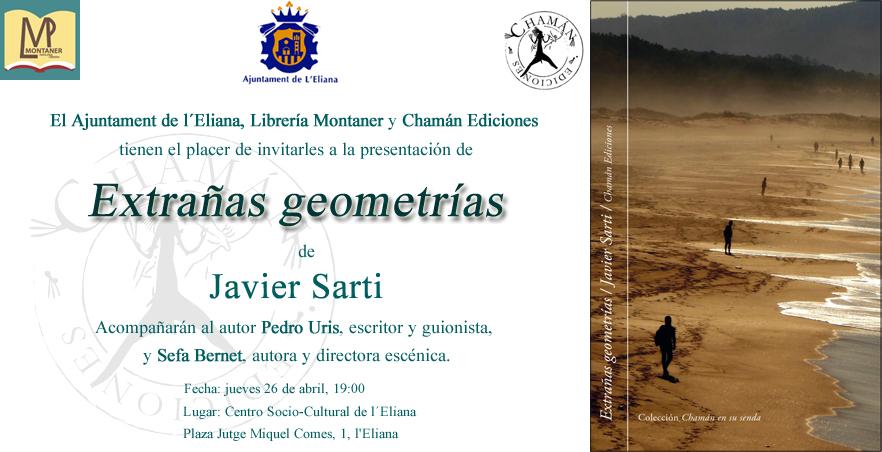 Invitación Extrañas geometrías leliana