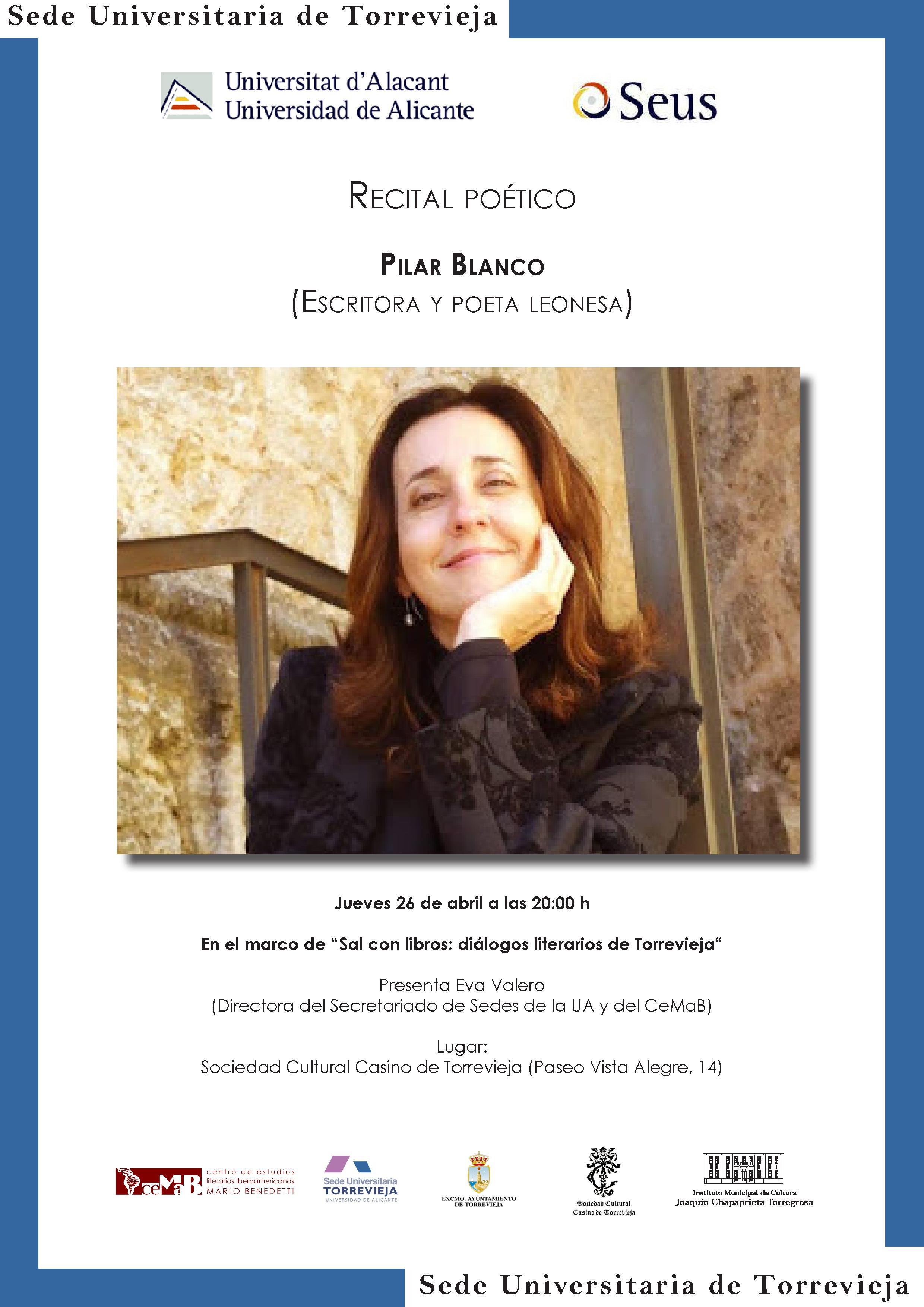 Recital Pilar Blanco por la UA