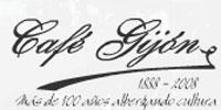 Logo del Café Gijón