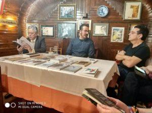 Tertulia en el Café Gijón de Madrid