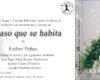 """Invitación """"el paso que se habita"""" de Esther Peñas, Librería muga"""
