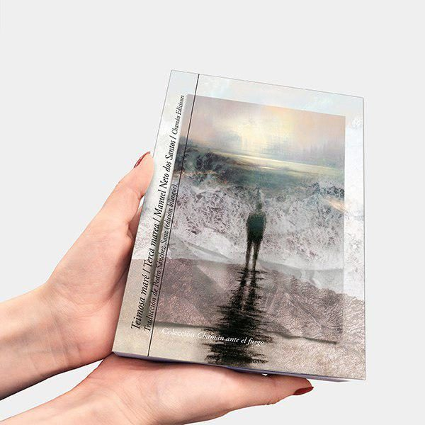 Teimosa maré / Terca marea de Manuel Neto dos Santos (Col. Chamán ante el fuego, Chamán Ediciones, Albacete, 2019)