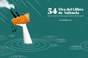 Cartel Feria del Libro de Valencia