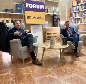 José Luis Ferris y Ramón Bascuñana