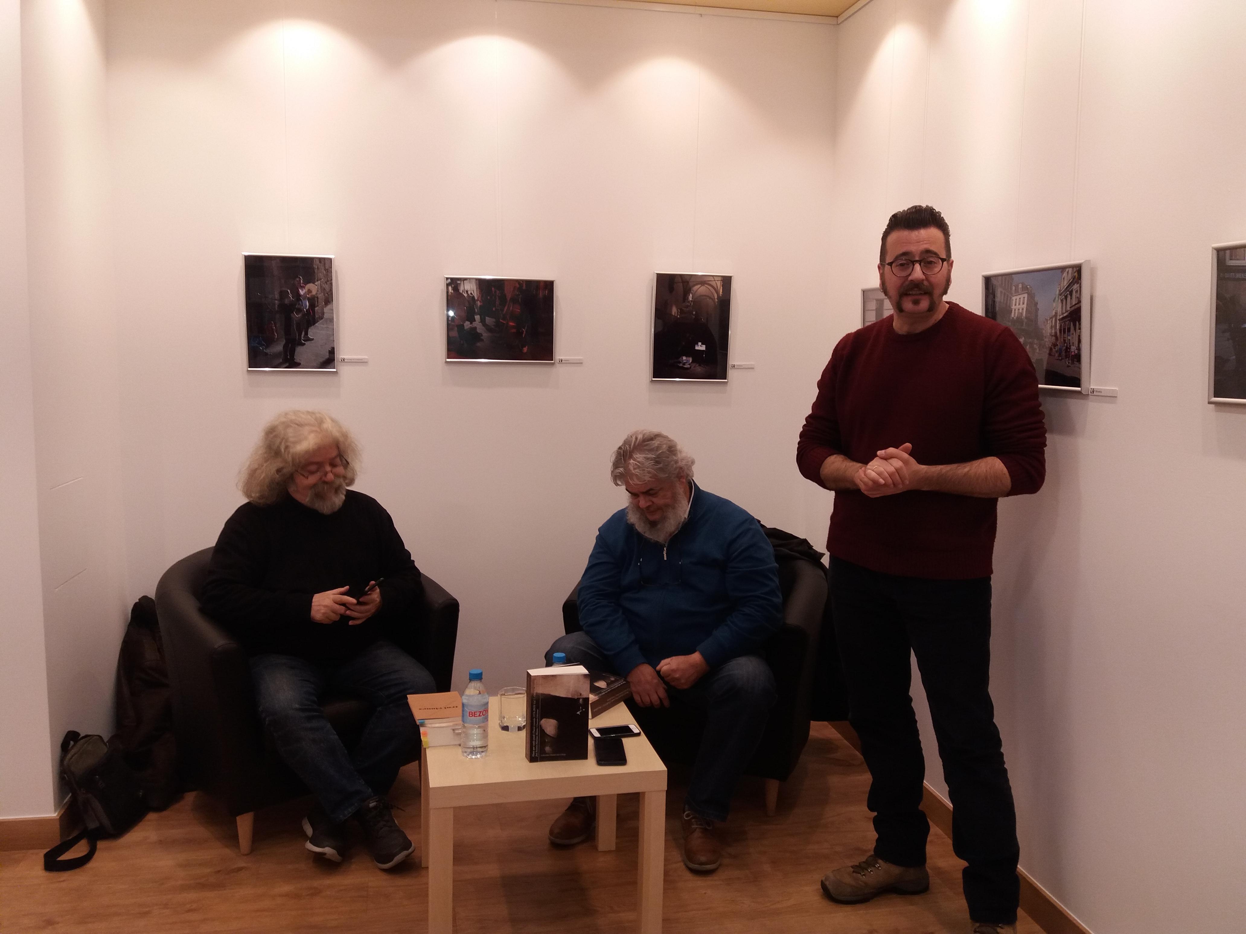 Presentación de José Antonio Martínez Muñoz en Albacete