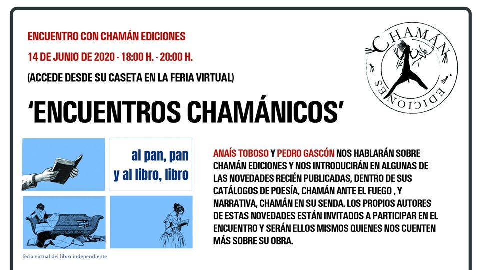 ENCUENTROS CHAMANICOS_FERIA VIRTUAL DEL LIBRO